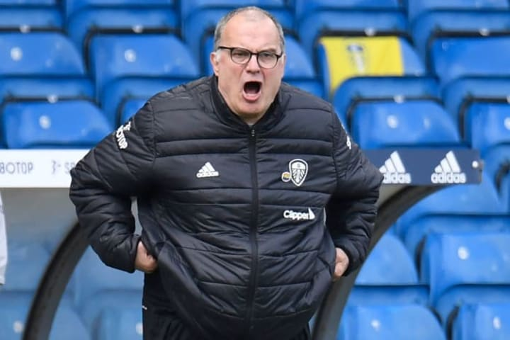 Marcelo Bielsa's Leeds are comfortably in mid-table