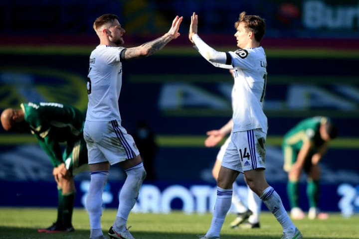 Liam Cooper and Diego Llorente have formed a solid partnership