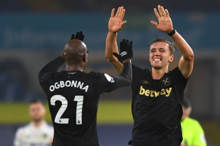 Ogbonna's late header sealed the points for the Hammers