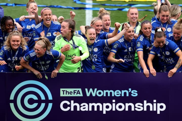 Leicester arrive in the WSL as Championship winners