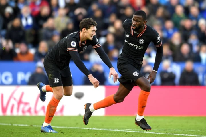 Christensen has played alongside Rudiger for much of this season