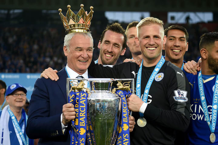 Schmeichel is a Premier League winner and one of the best goalkeepers in Europe