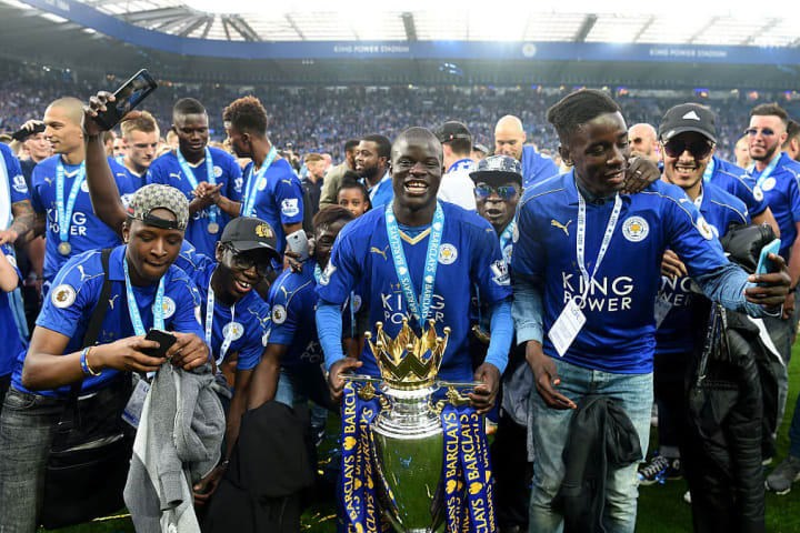 Kante helped Leicester win the 2015/16 Premier League title