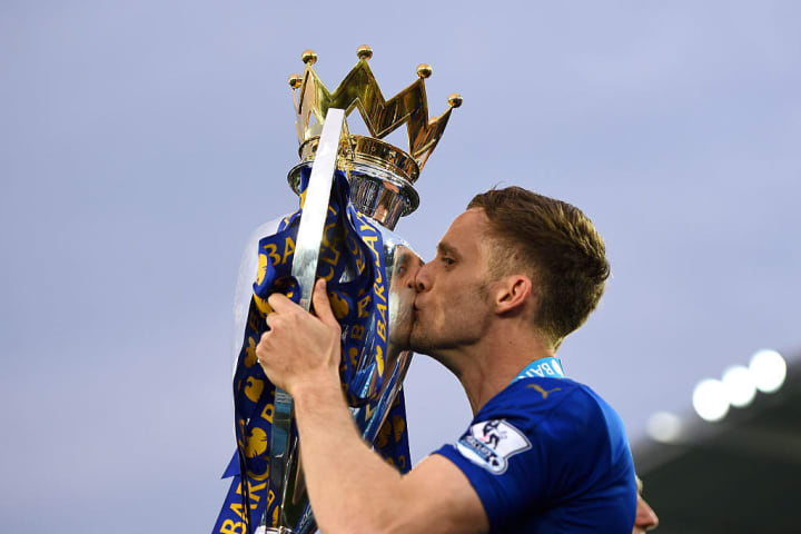 King lifted the Premier League with Leicester