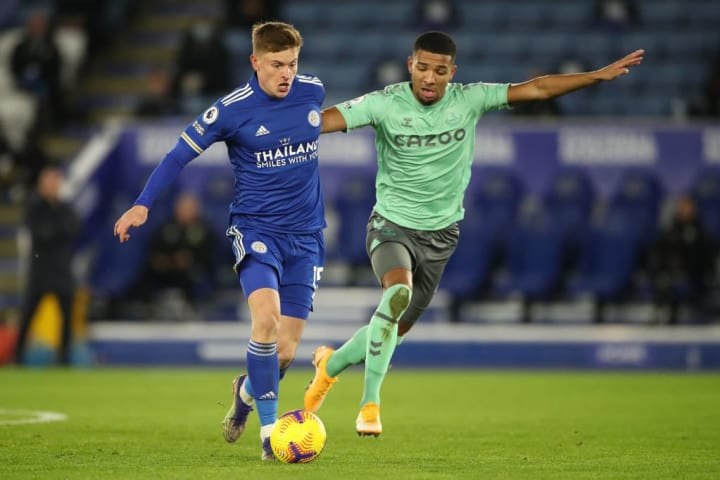 Barnes started out wide for Leicester