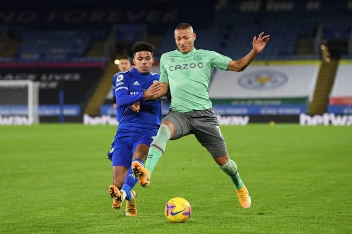 Richarlison opened the scoring for Everton