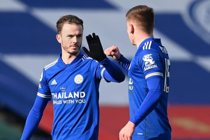 Harvey Barnes, James Maddison