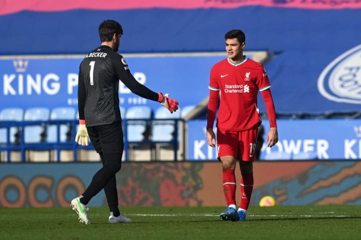 Liverpool currently have Ozan Kabak on loan