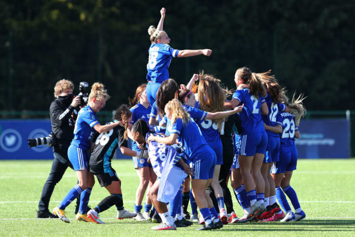 Leicester will be playing in the WSL next season