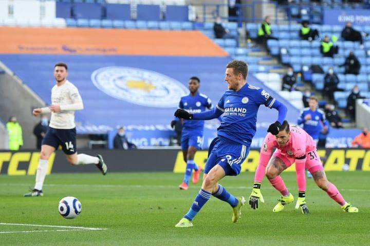 Jamie Vardy Leciester Chelsea Final Copa do Inglaterra