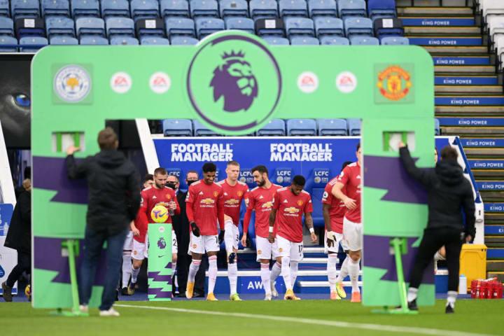 Leicester City v Manchester United - Liga Premier