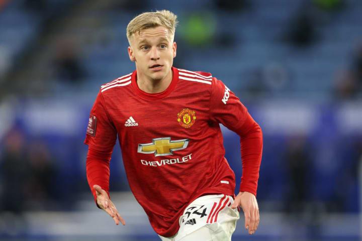 Man Utd are already considering letting Van de Beek go