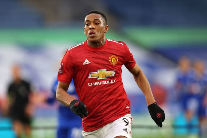 Anthony Martial is getting stick left. right and centre lately