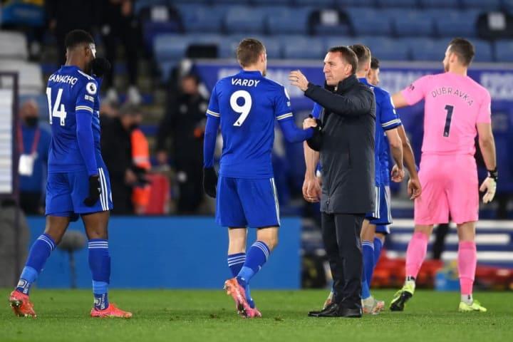Brendan Rodgers, Jamie Vardy