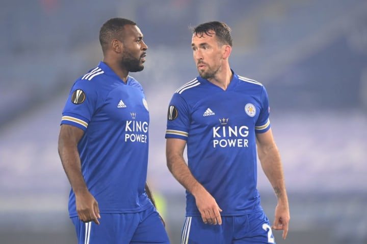 Wes Morgan, Christian Fuchs