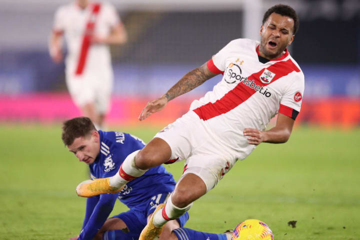 Bertrand feeling the effects of a tackle