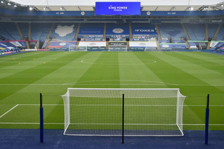 King Power will be under the lights when Leicester host Southampton
