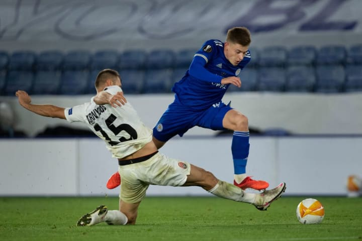 Harvey Barnes was flying on match day one