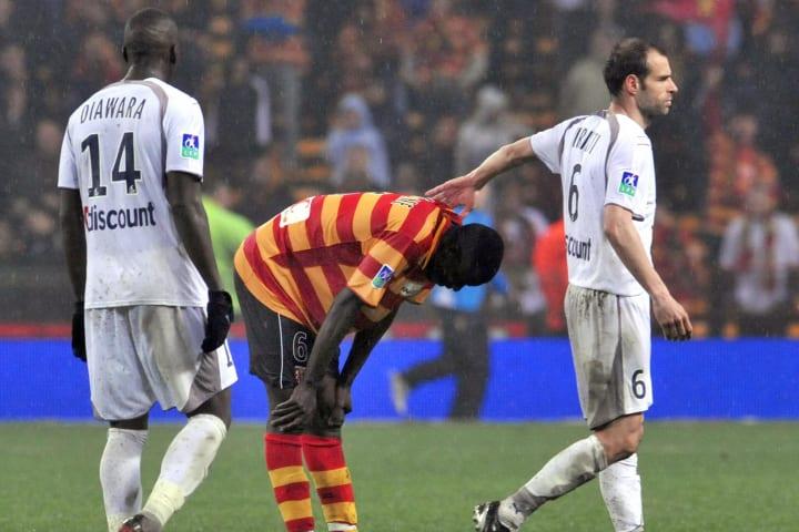 Lens' Malian midfielder Abdou Kader Mang