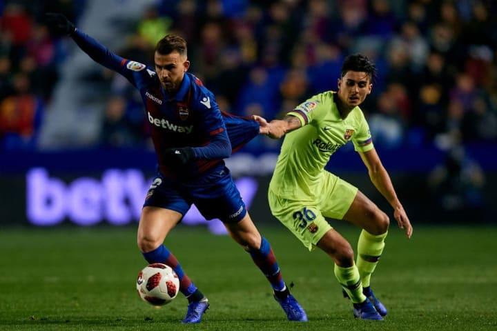 Levante v FC Barcelona - Copa del Rey Round of 16