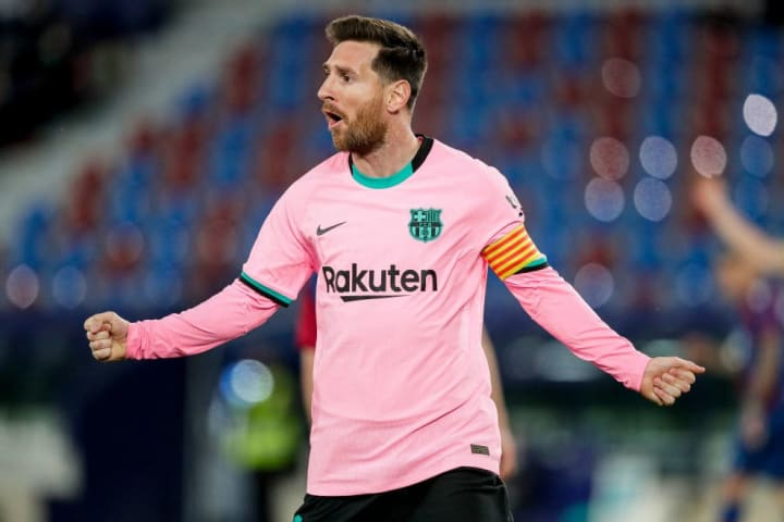 Messi scored a hat-trick against Valencia at the end of last season
