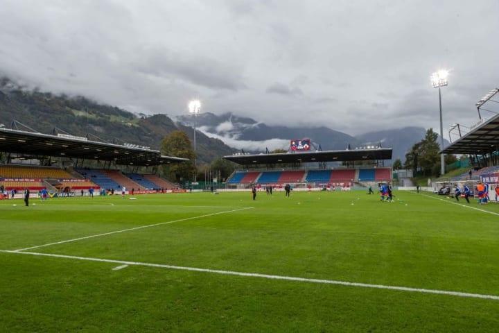 Rheinpark Stadion in Liechtenstein