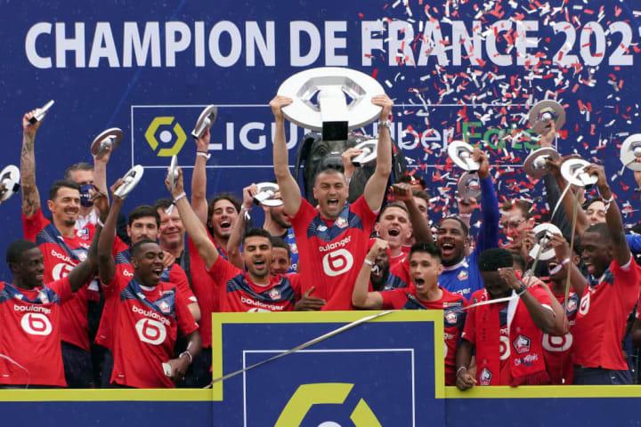 Ligue 1 França Rannking Valor Receita Lille