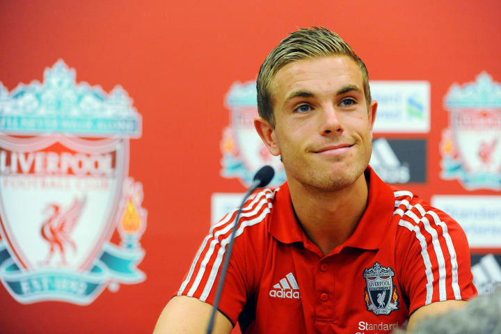 A youthful Jordan Henderson's first Liverpool press conference
