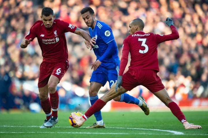 Fabinho ran the show in his full debut against Cardiff