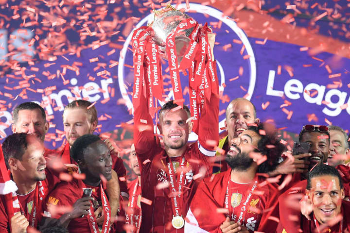 Liverpool won their first ever Premier League title