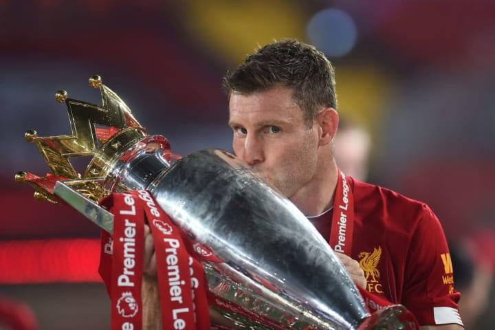 Milner has won the Premier League three times