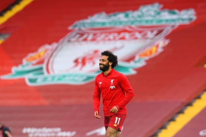 Salah needs one more goal to reach 20+ strikes for three seasons running