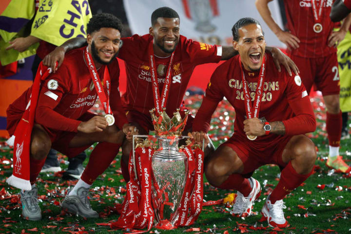 Joe Gomez and Virgil van Dijk were superb in Liverpool's title-winning season