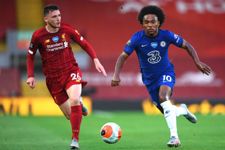Andy Robertson, Willian