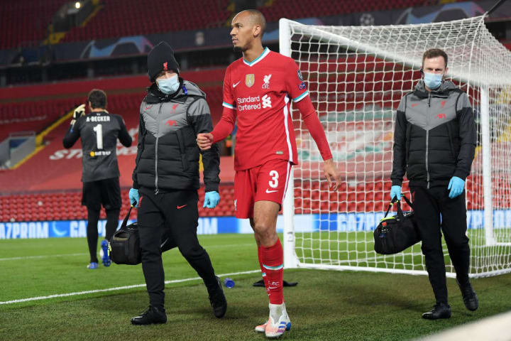Fabinho is one of many centre back options out of action