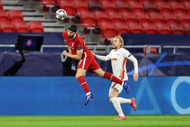 Nat Phillips was superb in Liverpool's 2-0 win over RB Leipzig on Wednesday night
