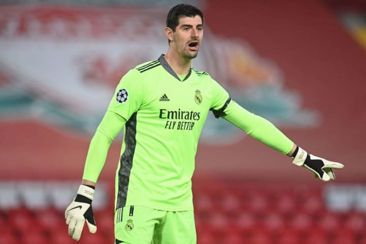 Thibaut Courtois made some big saves