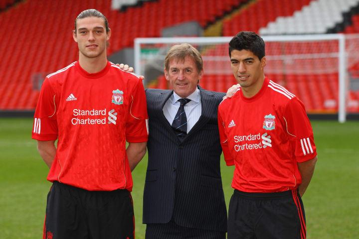 Andy Carroll, Kenny Dalglish, Luis Suarez