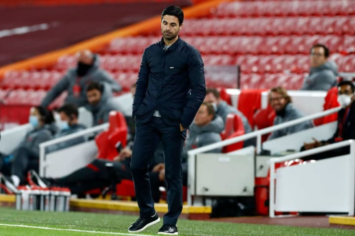 Mikel Arteta is said to be interested in the player amid Arsenal's desperate search for a midfielder