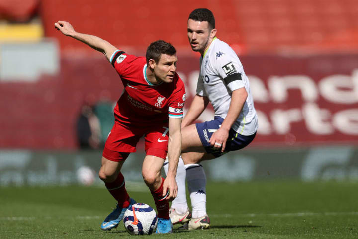 James Milner, John McGinn