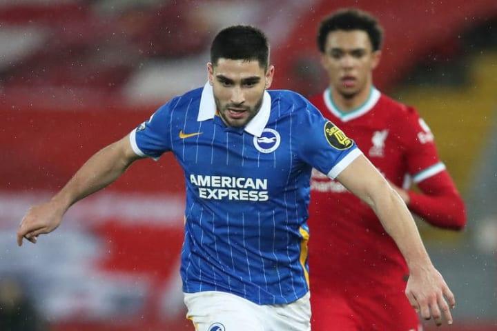 Maupay has struggled for regular goals at Brighton