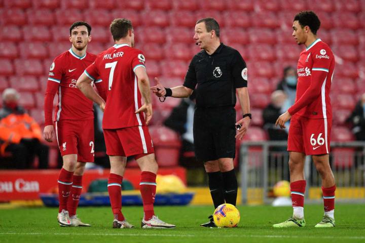 Andy Robertson, James Milner, Trent Alexander-Arnold, Kevin Friend