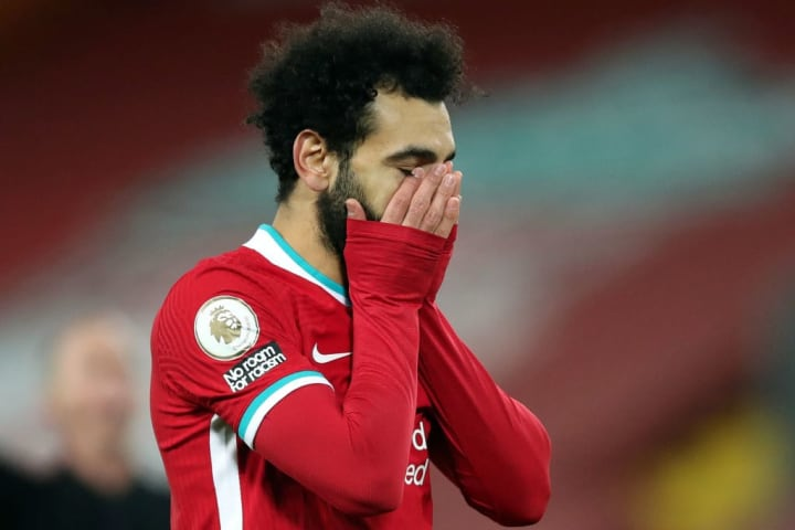 Salah has not ruled out an exit from Liverpool