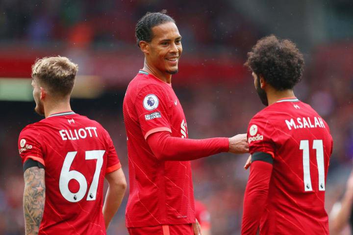 Mohamed Salah, Virgil van Dijk