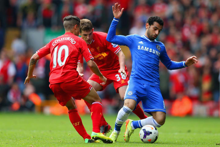 Philippe Coutinho, Mohamed Salah