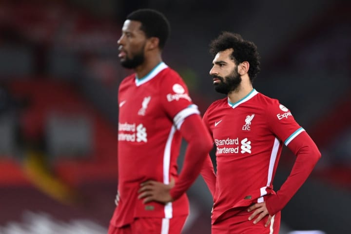 Liverpool have failed to hit the heights of last season