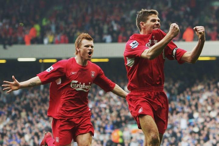 Steven Gerrard, John Arne Riise