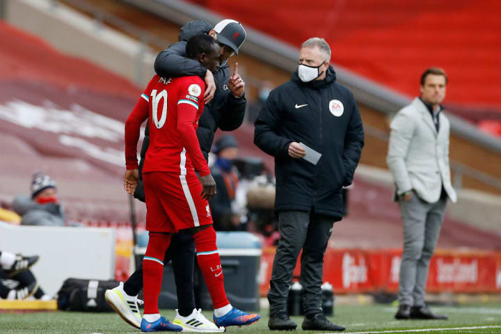 Jurgen Klopp has hinted Mane is suffering with low confidence