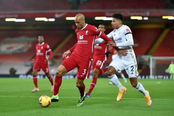 Fabinho returned to the fold for the Reds