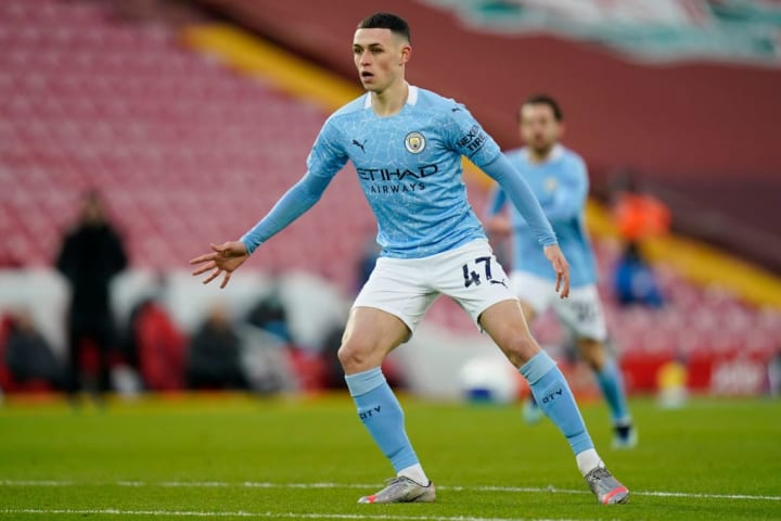 Foden was the star in Man City's win at Liverpool